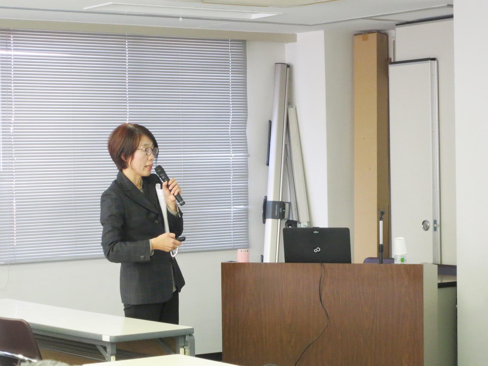 岡山のFP黒住惠里の相続・不動産セミナーの様子